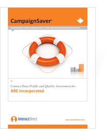 Interact Direct CampaignSaver report cover